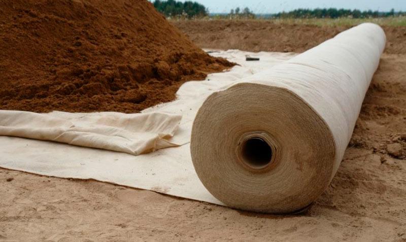Строительный материал - геотекстиль