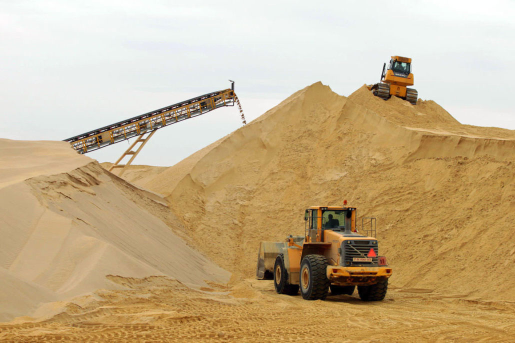 Где купить карьерный и речной песок в Ижевске?