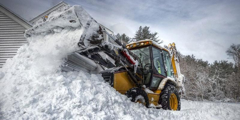 Уборка и вывоз снега. Важность своевременной уборки снега