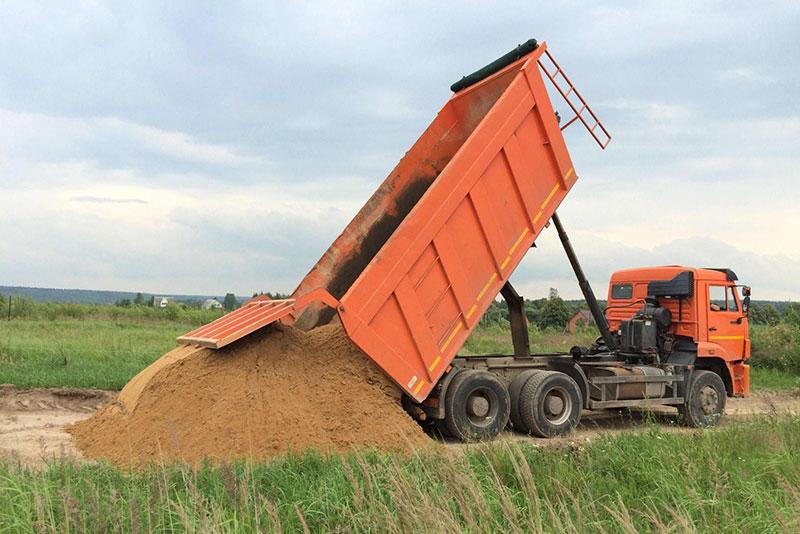 Доставка строительного песка в Ижевске